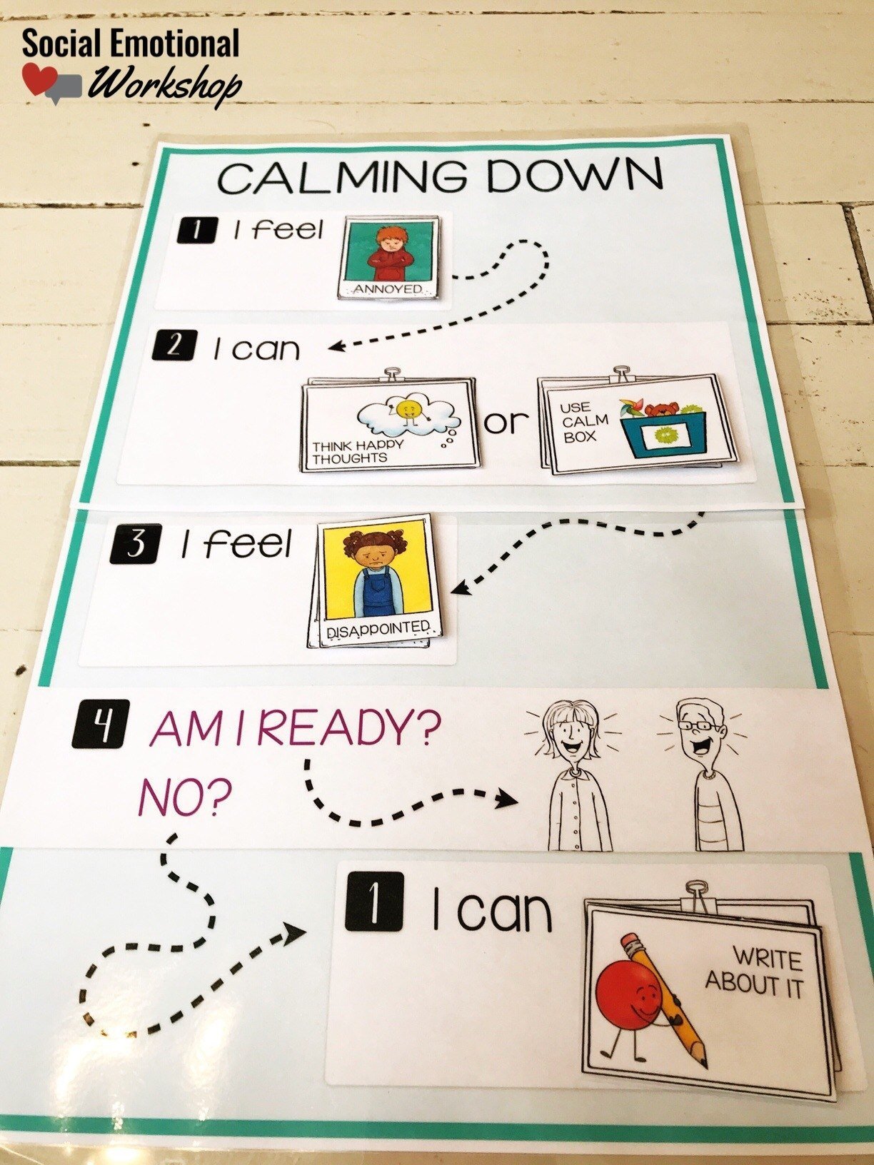 Interactive Calm down process