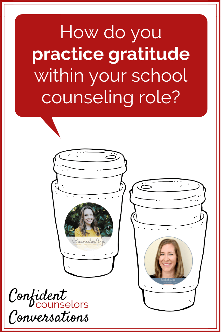 How do you practice gratitude as a school counselor? It can help when you are experiencing career stress. Check out these tips!