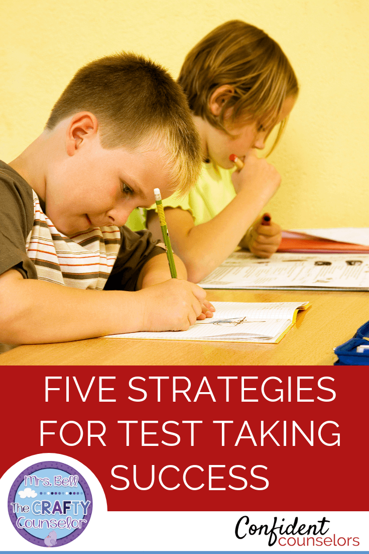 5 strategies to help prepare your students for test taking success. Classroom lessons, calm down strategies and a culture of calm help create test success.