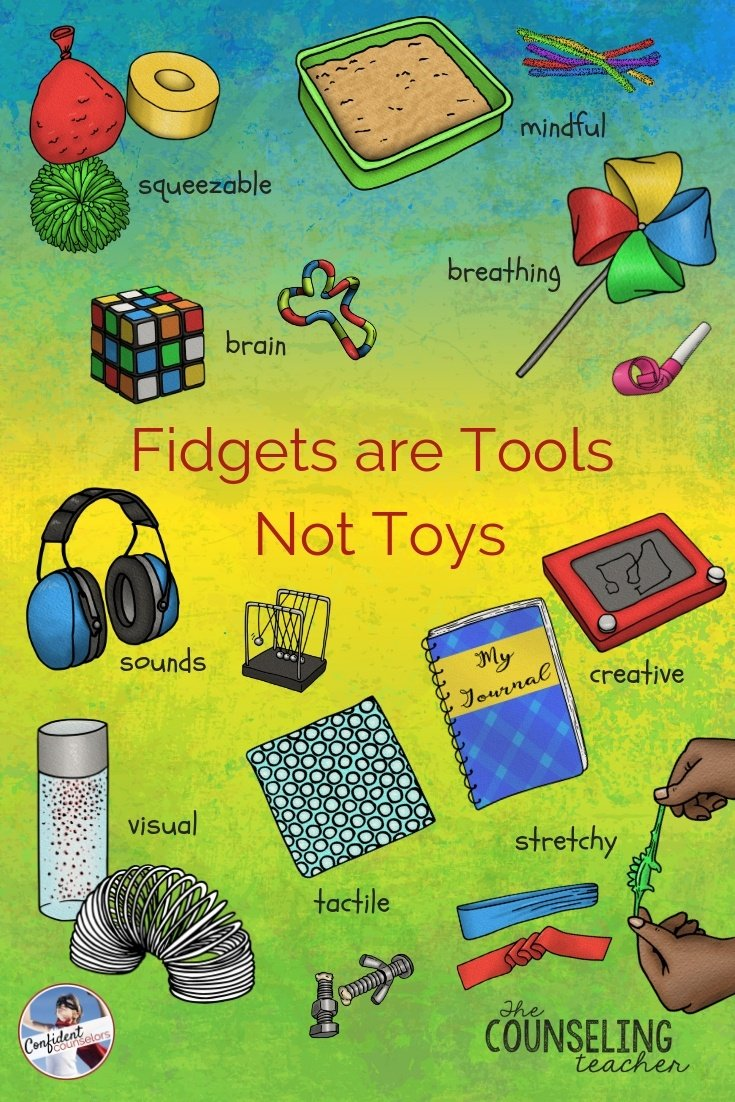 Fidgets are tools not toys