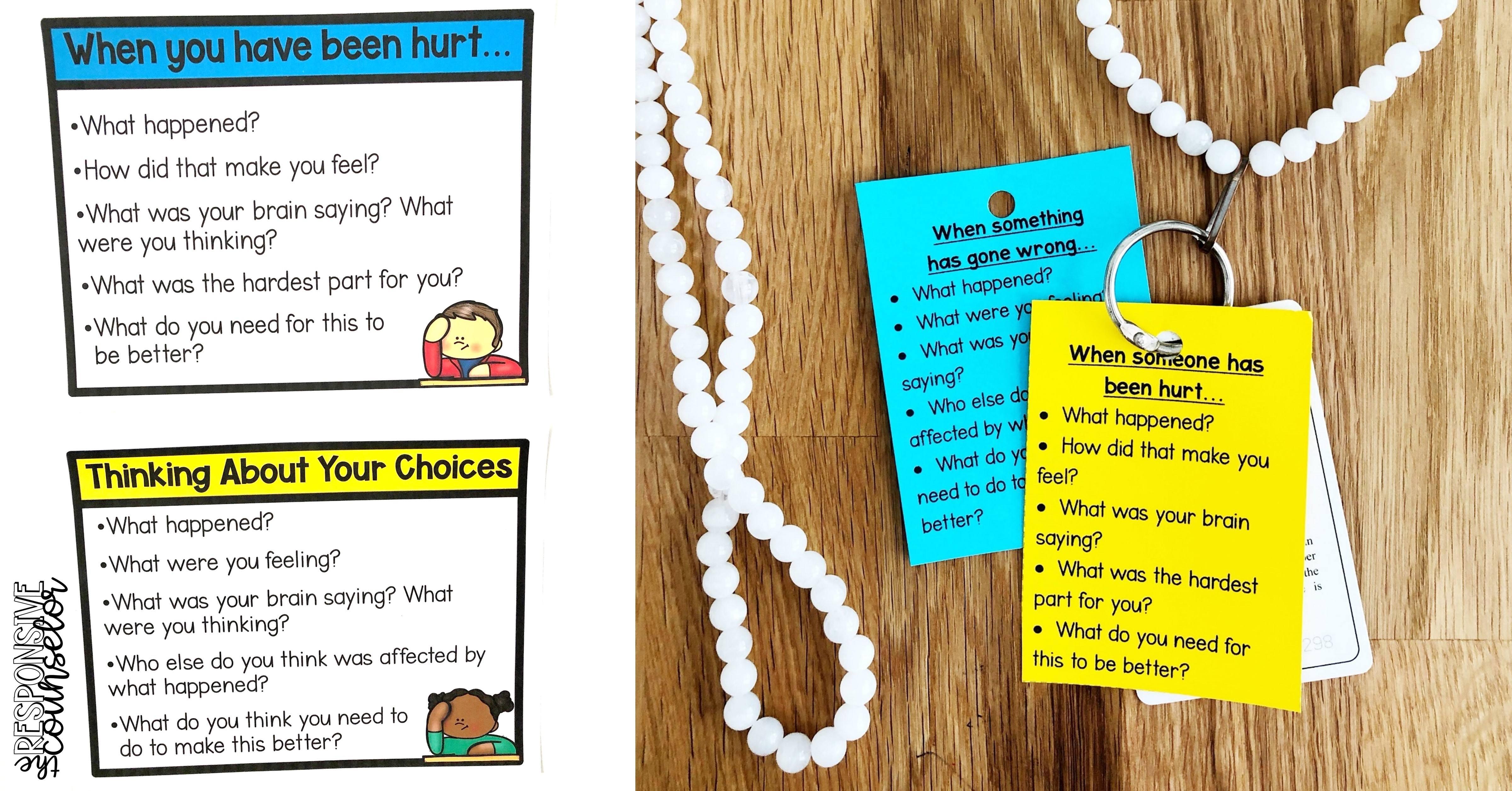 restorative practices classroom visuals