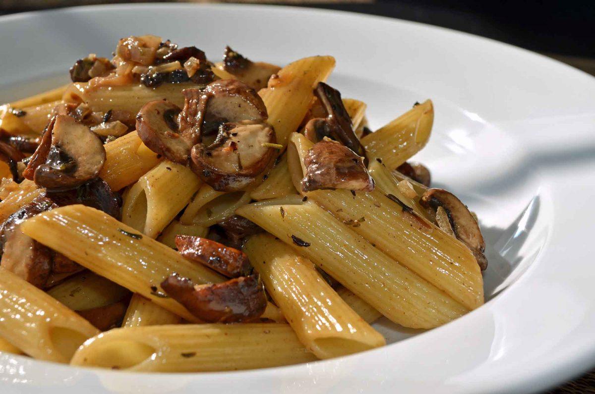Mushroom Marsala with Penne Recipe