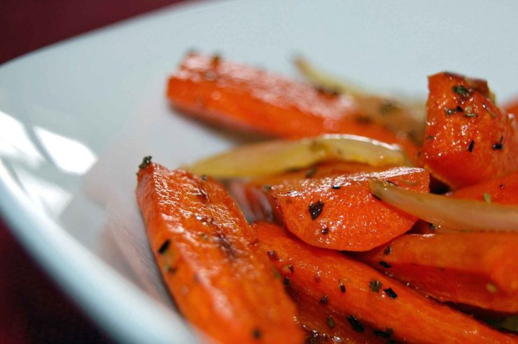 Roasted Carrots with Onion Recipe-Confident in the Kitchen-Jean Miller
