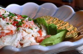 Crab Meat Salad Recipe-Confident in the Kitchen-Jean Miller