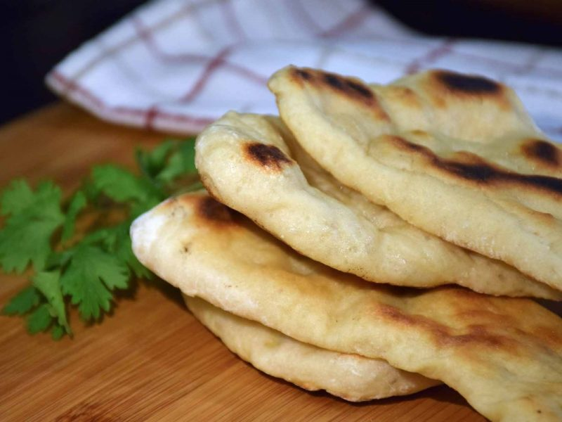 Naan Na'an Bread Recipe-Confident in the Kitchen-Jean Miller