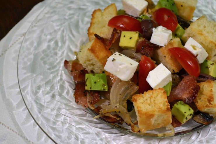 Panzanella Recipe-Confident in the Kitchen-Jean Miller