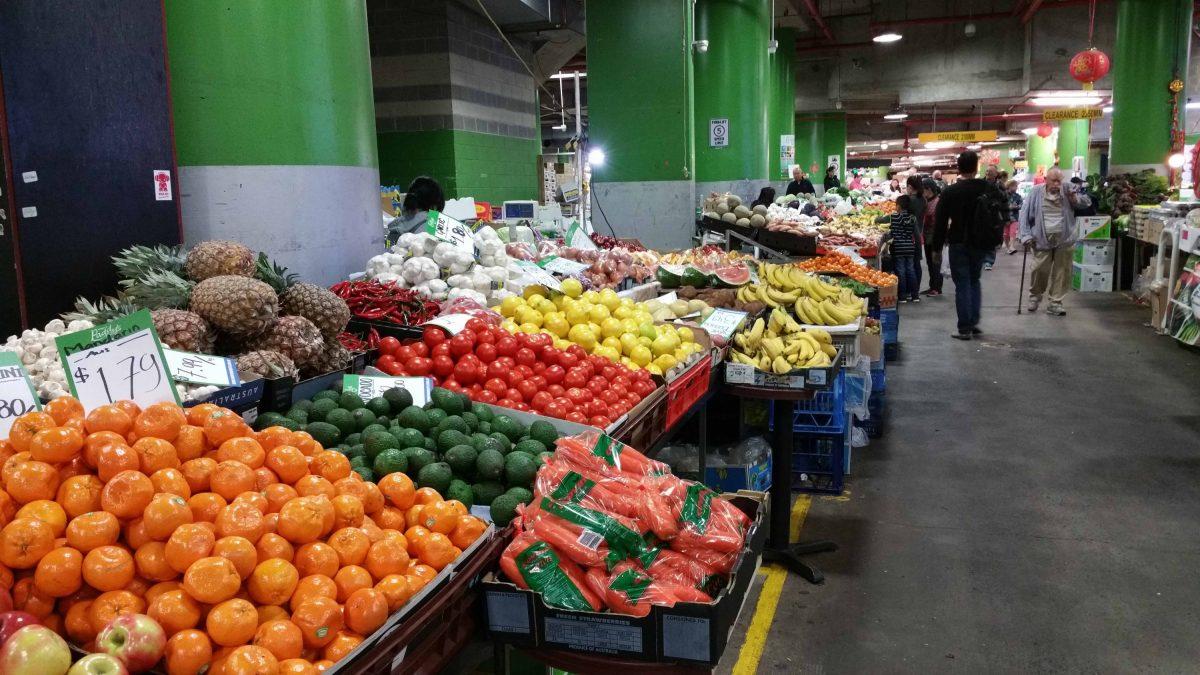 Sydney, Australia Paddys Market Produce
