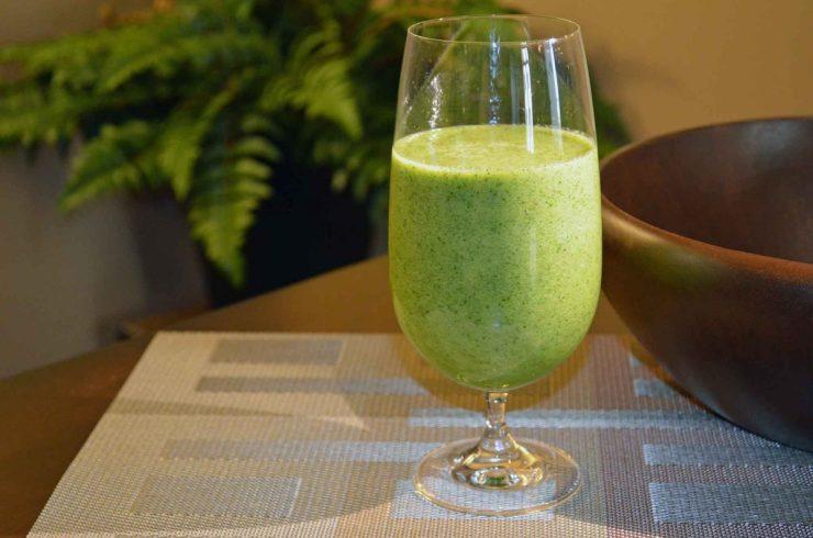 Green Garden Smoothie Recipe-Confident in the Kitchen-Jean Miller