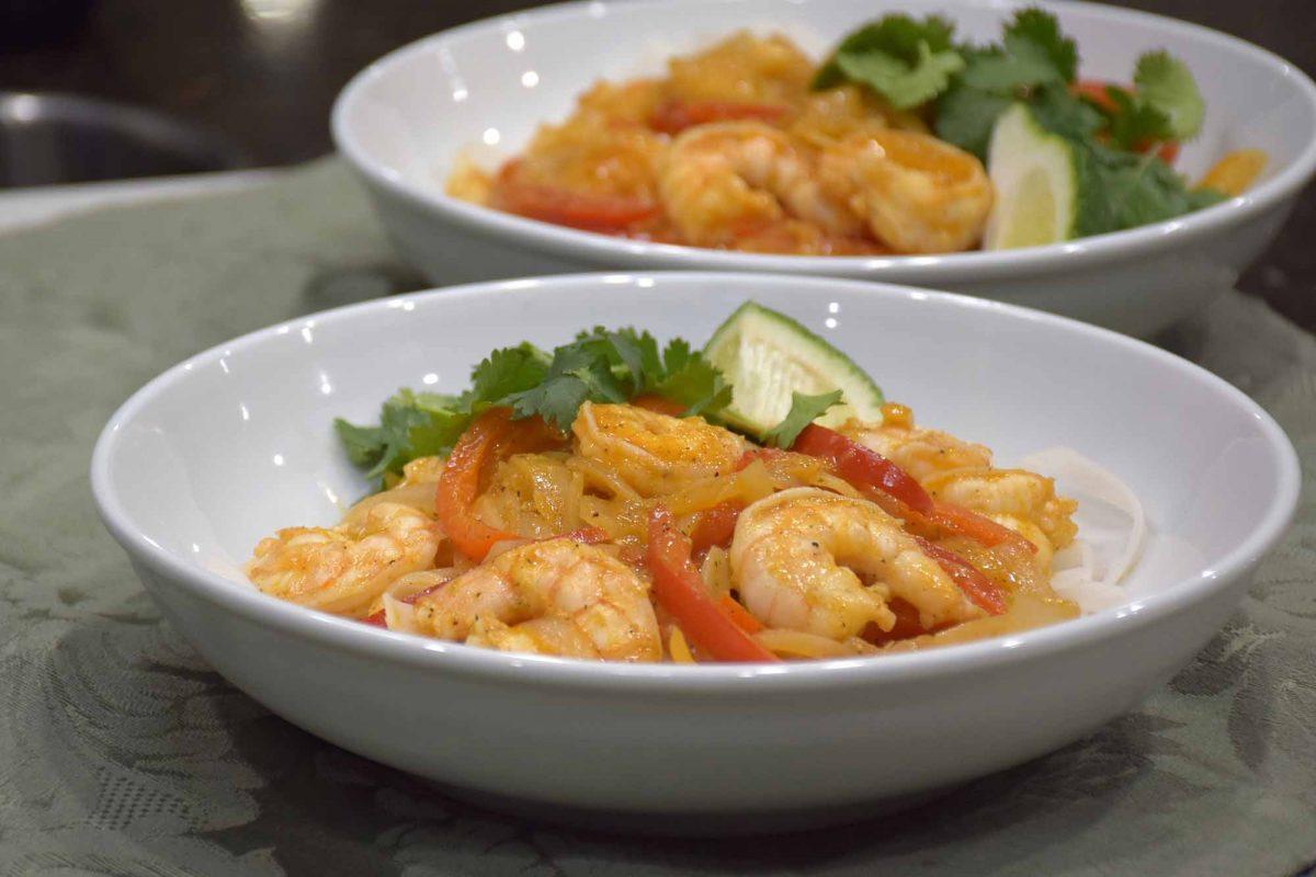 Chili Lime Shrimp Noodle Bowl Recipe