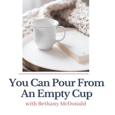 You Can Pour From An Empty Cup
