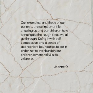 Jeanne O on Emotional Boundaries