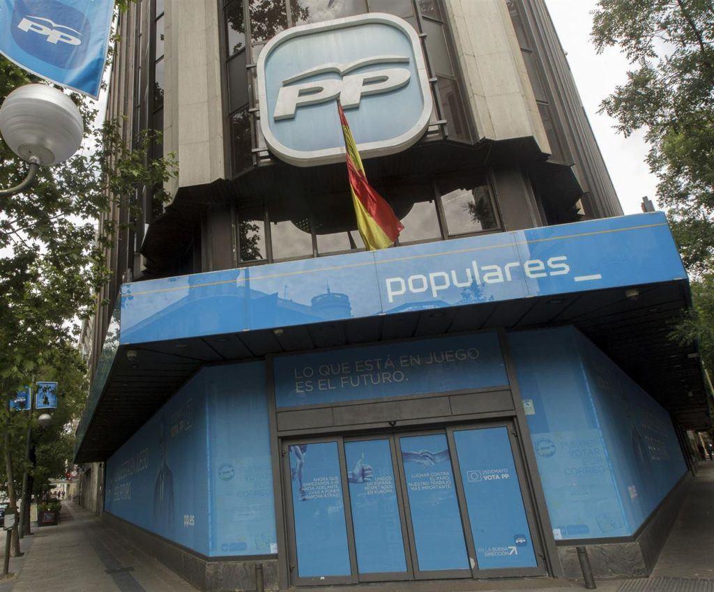 La Justicia reclama al PP que pague su fianza de 1,2 millones de euros por el caso Bárcenas