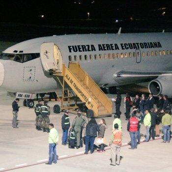 pressos ecuatorianos repatriados desde EEIUU