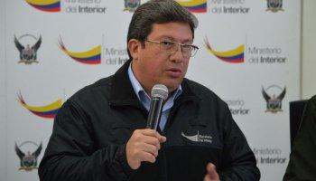 César Navas, ministro del Interior