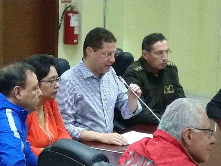Alcalde Rodas ofrece recompensa para encontrar a responsables de atentado vandálico contra el primer tren del Metro de Quito