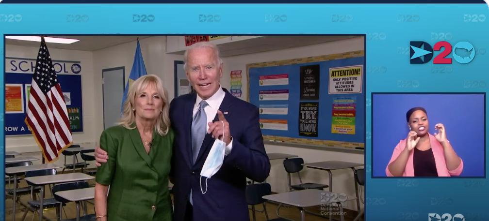 Joe Biden confirmó su candidatura