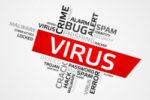 Computer Virus Illustration
