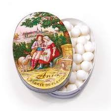 ANIS DE FLAVIGNY –  BONBONS ANISES – boite ovale 50 g – Anise candies