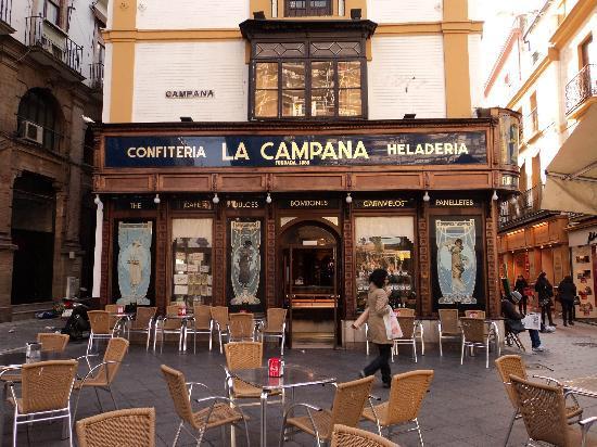¡Que vuelvan los veladores a La Campana!
