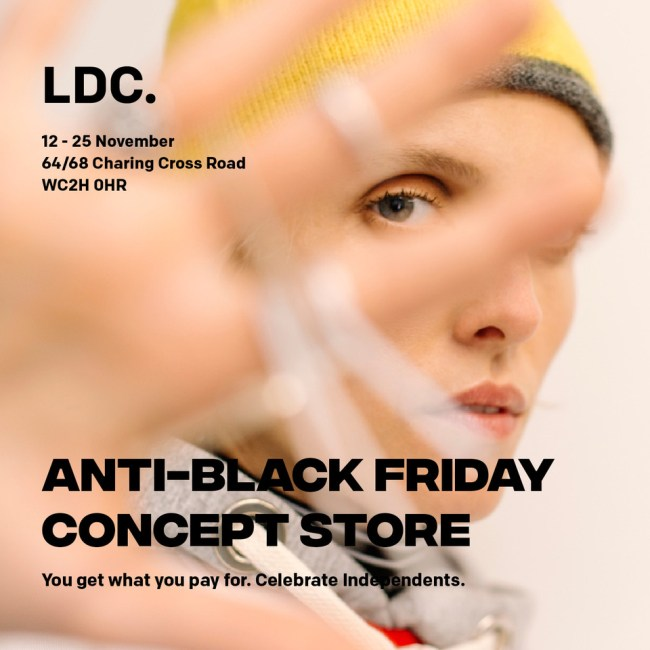 Events. - Anti Black Friday Concept Store