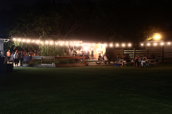 yard at night 600