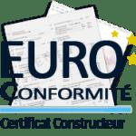 Attestation de conformité européen Seat