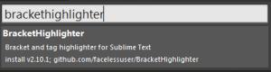 Sublime text3でシングルクォーテーションや括弧を強調する