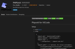 VSCode+ComposerでPHPUnit9.0を使う