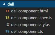 Angular でコンポーネントのスタイルシートをcssからstylusに変更する方法