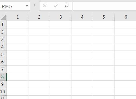 Excelが勝手にR1C1形式になるのでA1形式の戻す方法