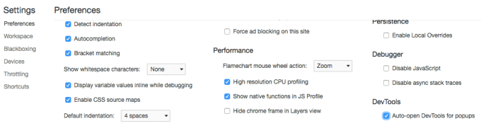 Chromeで新しいタブブラウザを開く際に開発者ツールを自動で開く方法