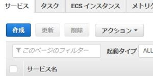 Amazon ECSでApache+Tomcat連携する