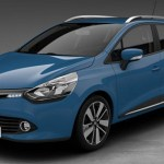Renault clio sporter blu