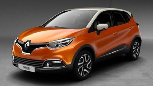 Captur Renault due colori