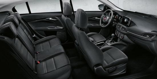nuova Fiat Tipo interni