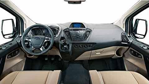 Ford Tourneo Connect interni