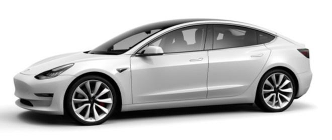 modelli Tesla 3