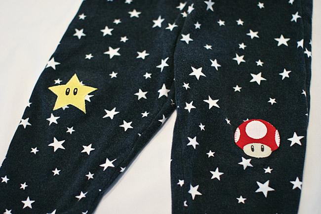 Super Mario Bros Knee Patches