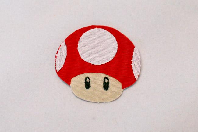 Fuse mushroom cap to stem