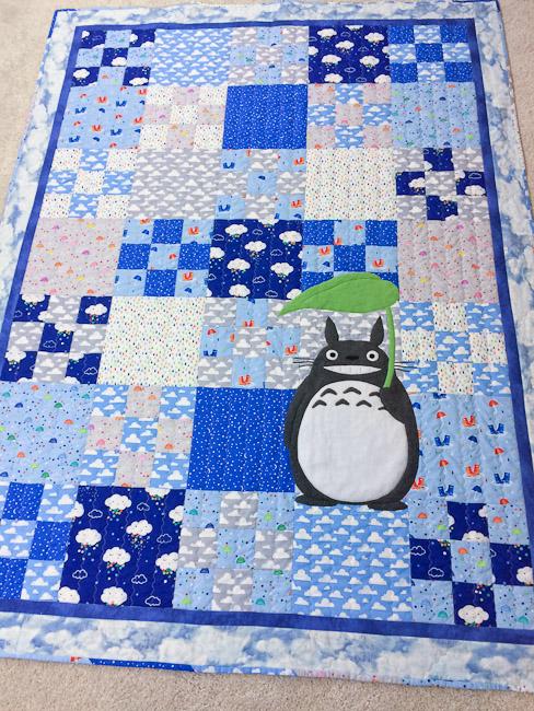 Totoro Quilt