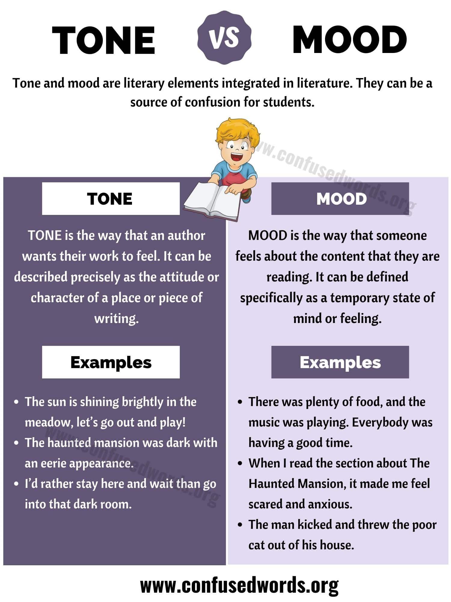 Tone Vs Mood How To Use Tone Vs Mood In Literature