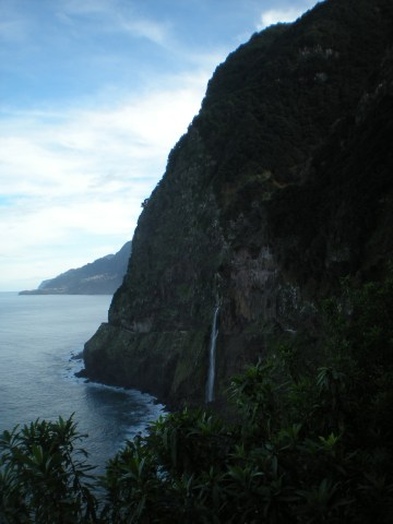 Madeira waterfall