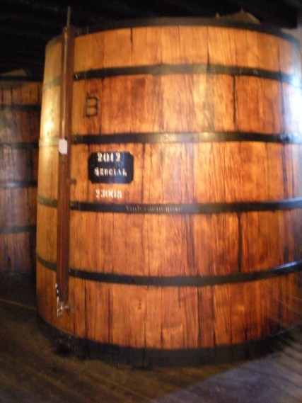 """Of course I took a photo of the """"B"""" barrel (sadly a horribly blurry one...)"""