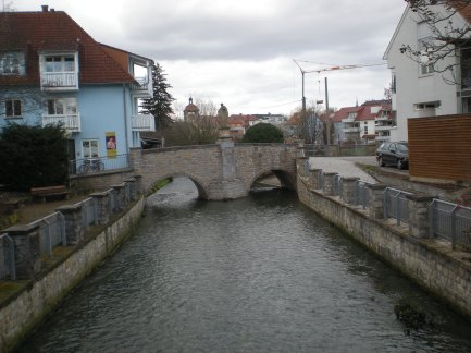 I thought this little bridge was cute