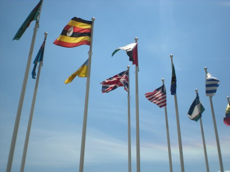 Obviously I had to get a shot of the UK flag :-)