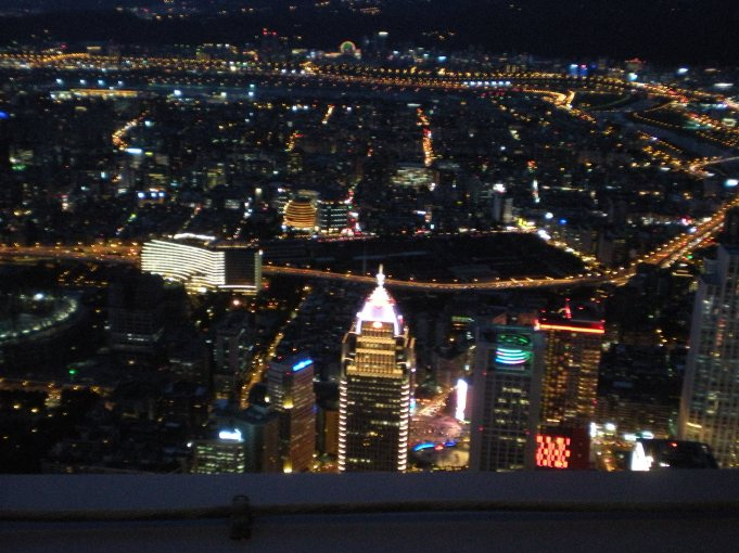 Taipei city lights!
