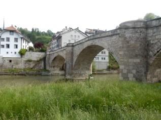 The third hole was under this bridge