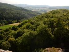 View from Landskron castle