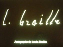 Louis Braille's signature