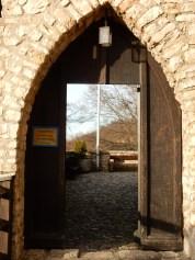 Entrance to Burg Reichenstein